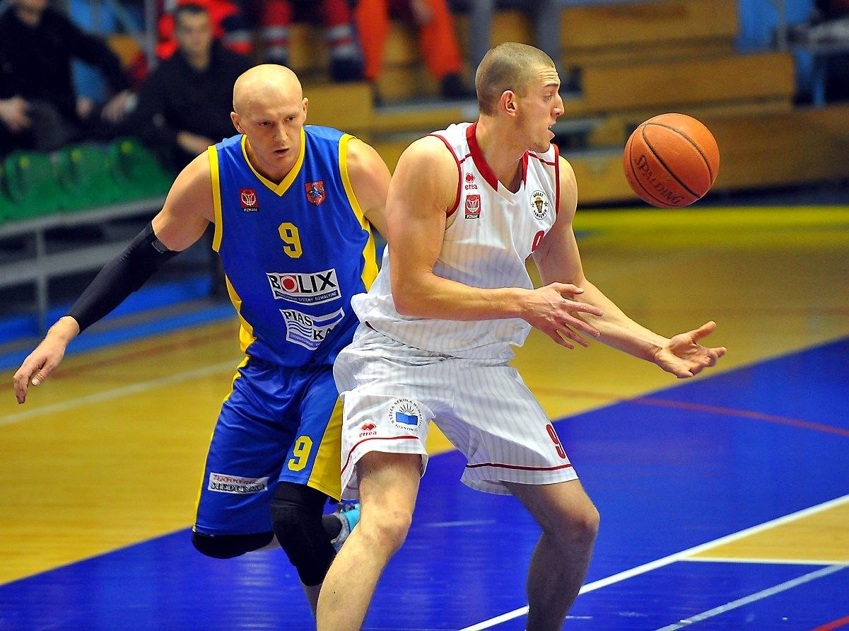 Koszykarze Zagłębia zwyciężają SKK Siedlce 85 : 69