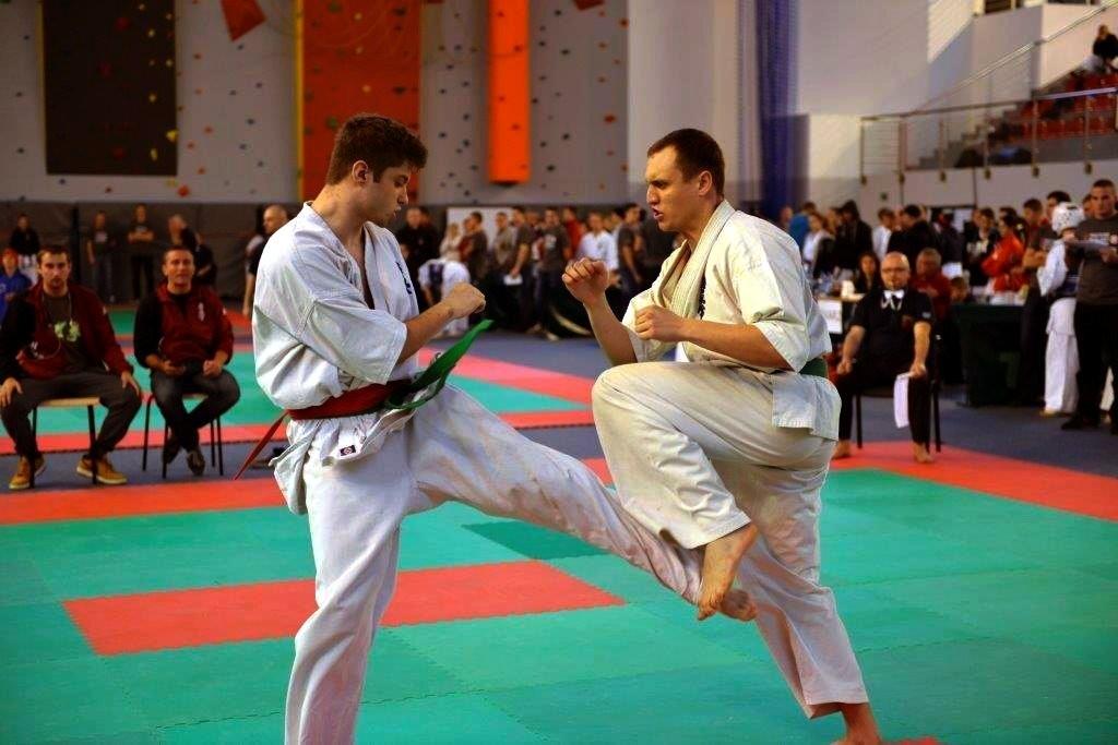 Dąbrowski karateka w walce o Puchar Polski