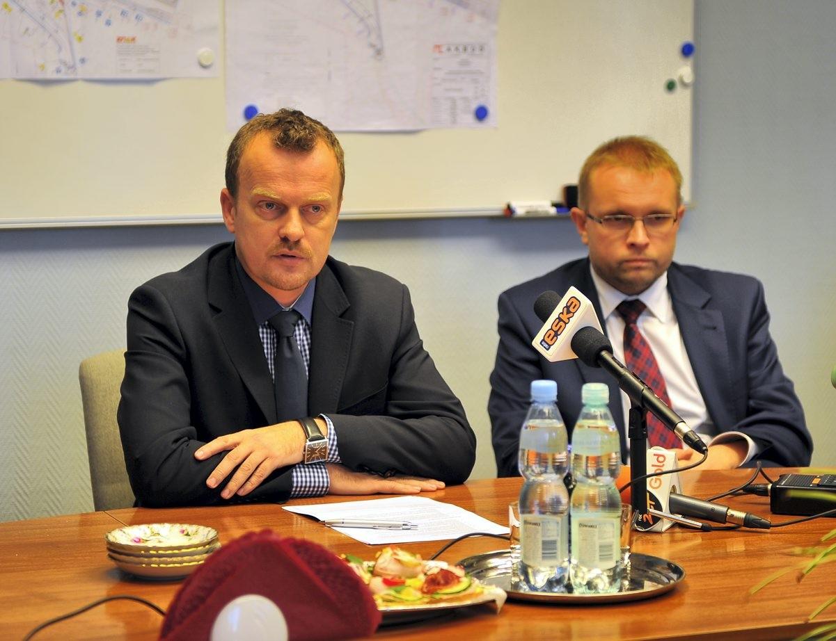 Konferencja prasowa Arkadiusza Chęcińskiego