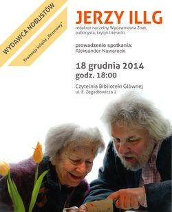 Spotkanie autorskie z Jerzym Illgiem
