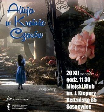 Alicja w Krainie Czarów – spektakl taneczno-muzyczny w ECK