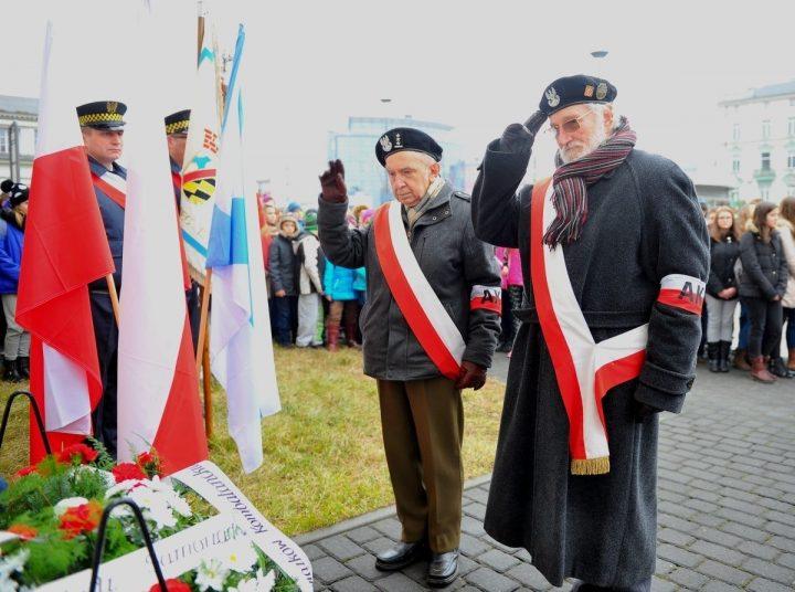 Skromna inauguracja obchodów rocznicy Powstania Styczniowego – fotorelacja