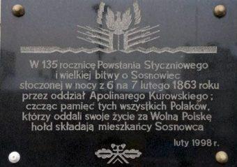 Pułkownika Kurowskiego wyprawa na Sosnowiec – wydarzenia w Sosnowcu z nocy 6/7 lutego 1863 roku