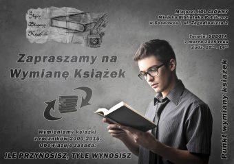 W Sosnowcu pierwsza edycja wymiany książek