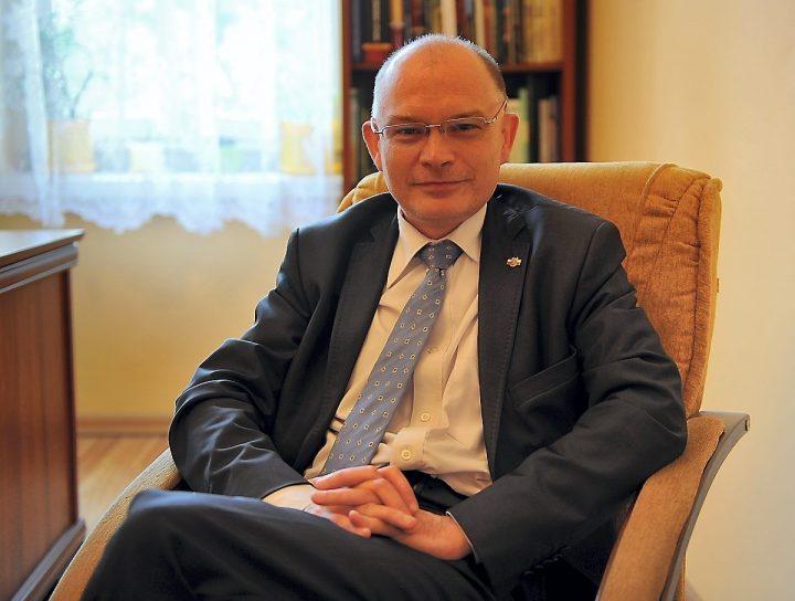 Konferencja prasowa posła Waldemara Andzela