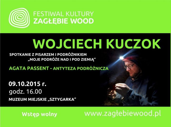 """Spotkanie autorskie z Wojciechem Kuczokiem pn. """"Moje podróże pod i nad Ziemię"""""""