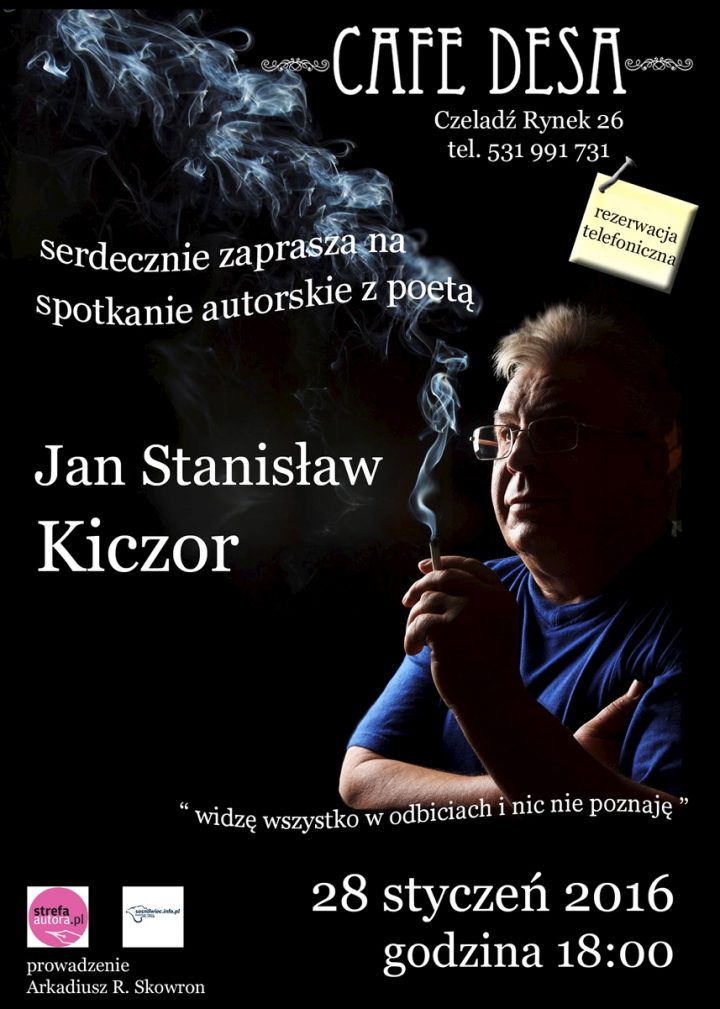 Wieczór autorski, czyli spotkanie z poezją Jana Stanisława Kiczora