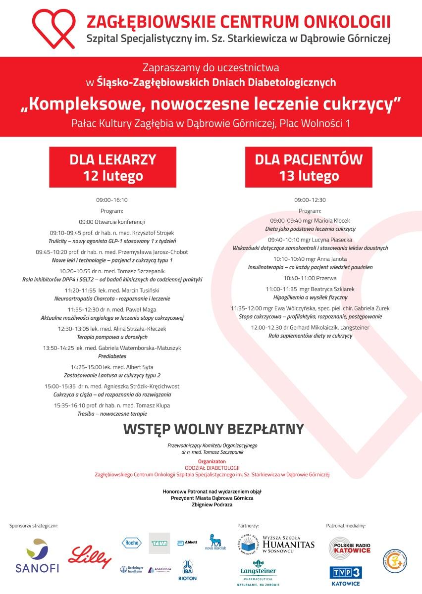 I Śląsko-Zagłębiowskie Dni Diabetologiczne