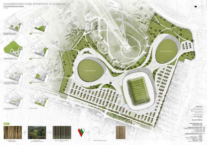 Nie 3 mln zł, ale nawet 7,5 mln zł może kosztować projekt Zagłębiowskiego Parku Sportowego