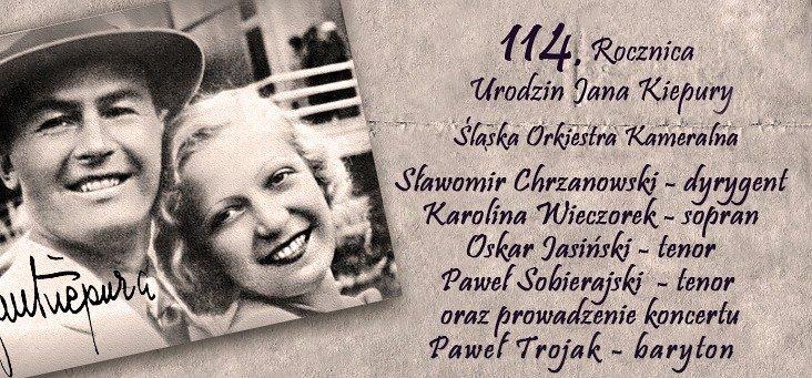 Koncert Śląskiej Orkiestry Kameralnej z Okazji 114. Rocznicy Urodzin Jana Kiepury