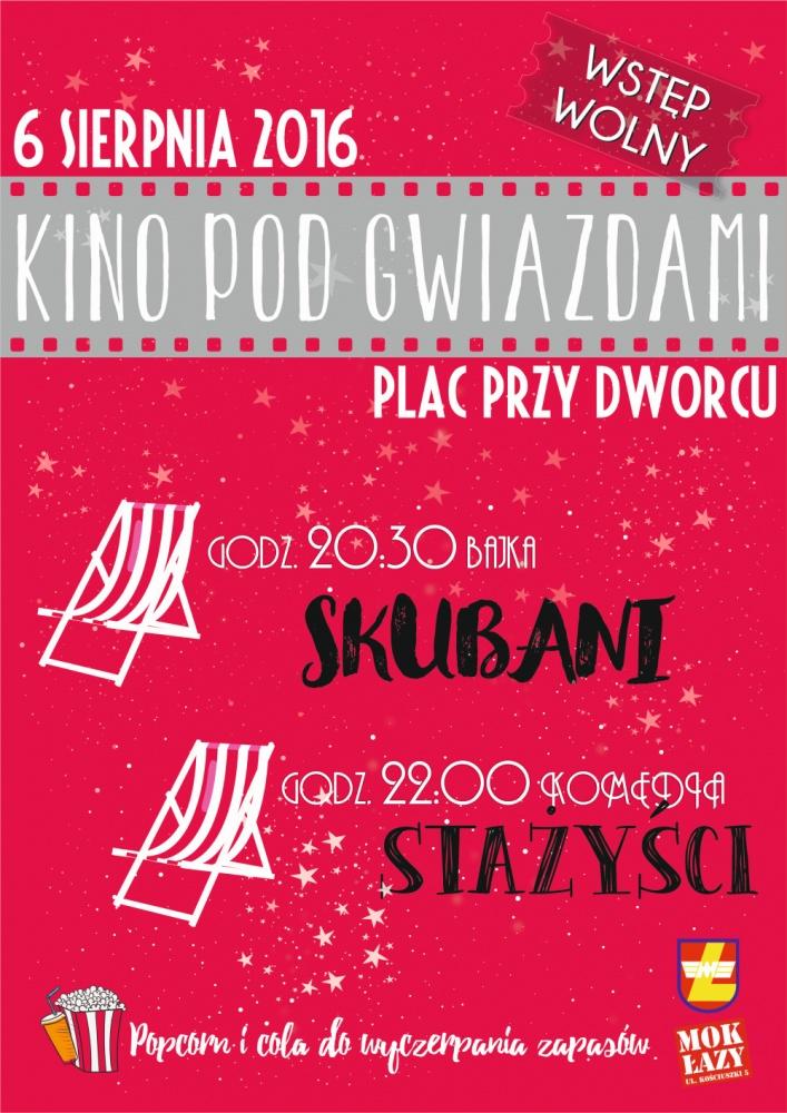 """""""Kino pod gwiazdami"""" w Łazach"""