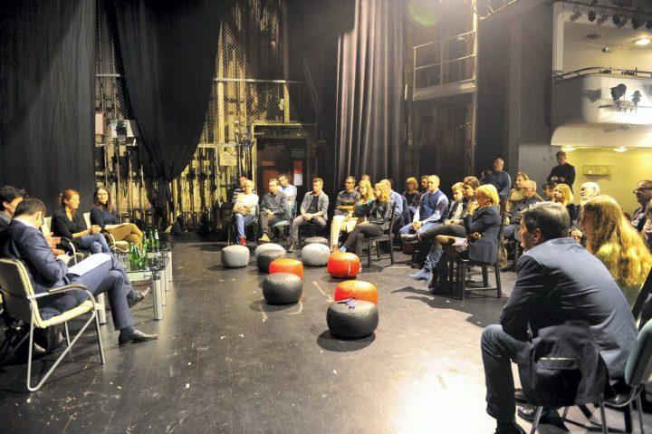 Widzu,  przemów – warsztat z publicznością Teatru Zagłębia