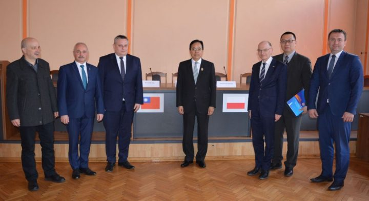 Tajwańska delegacja w Powiecie Będzińskim
