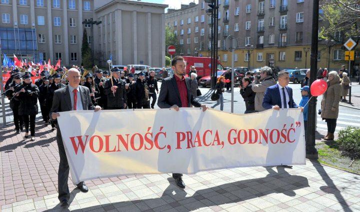 Obchody Święta Pracy w Sosnowcu