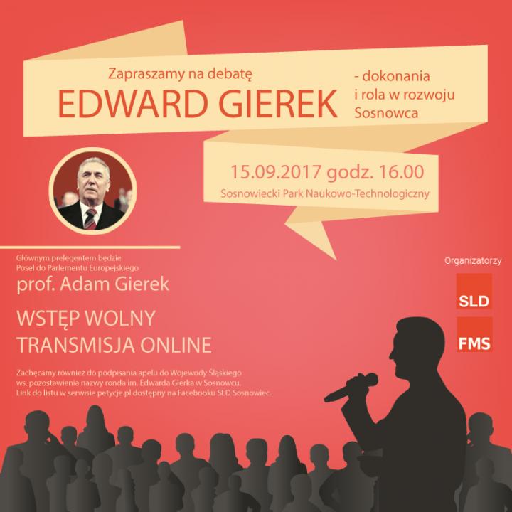 Debata o Edwardzie Gierku