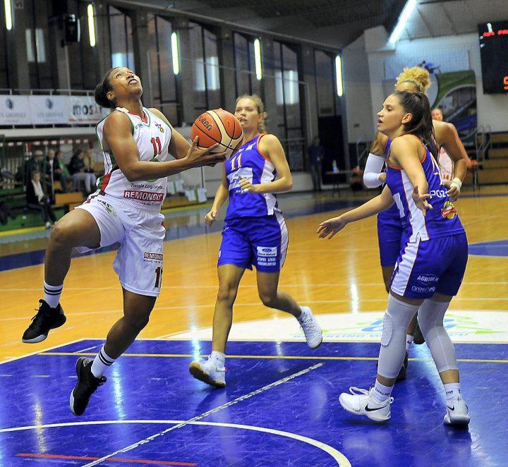 Efektowna wygrana koszykarek