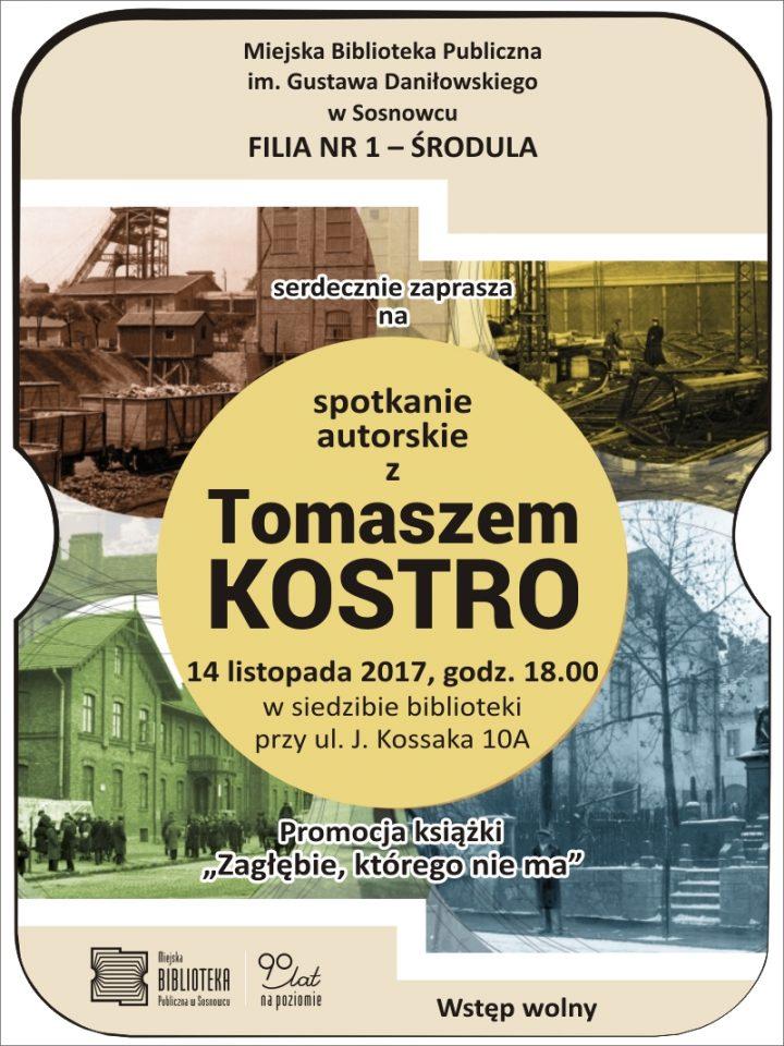 Spotkanie autorskie z Tomaszem Kostro