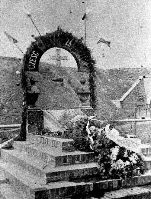 Kilka słów o pomniku Nieznanego Żołnierza w Grodźcu