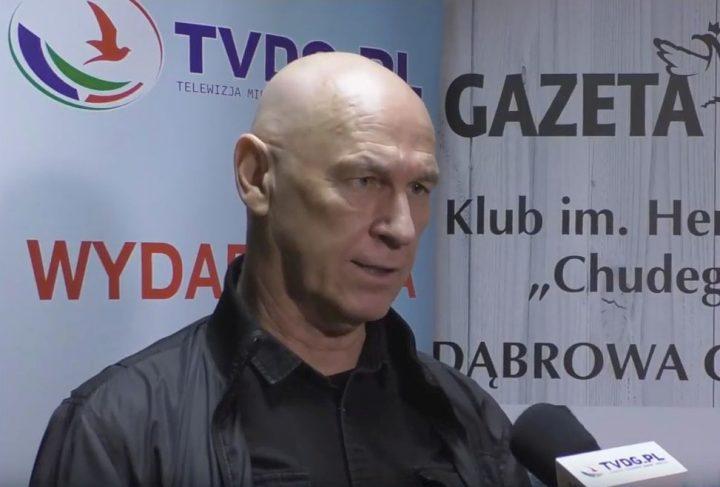 Leszek Żebrowski w Klubie Gazety Polskiej