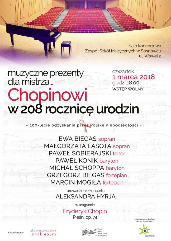 Chopinowi w 208 rocznicę urodzin