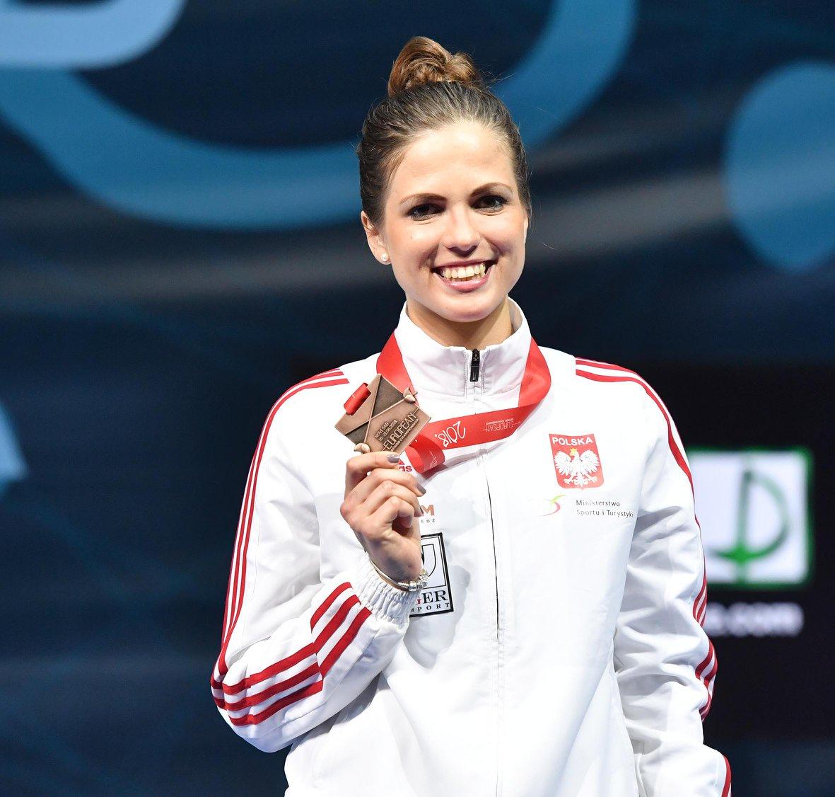 Marta Puda z brązowym medalem Mistrzostw Europy