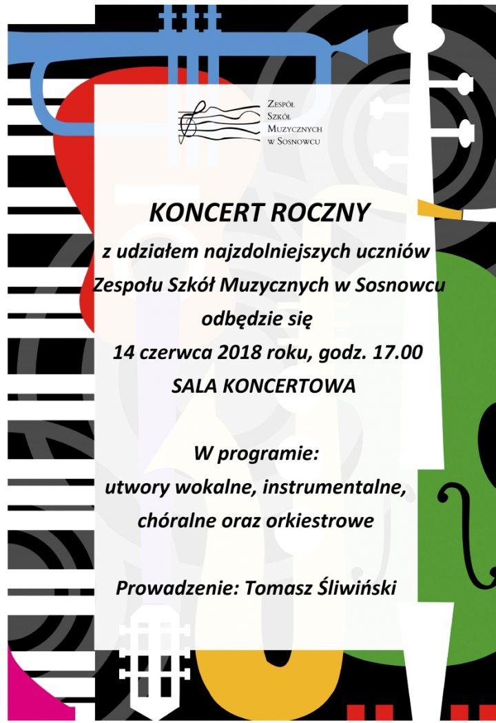 Koncert Roczny z udziałem najzdolniejszych uczniów