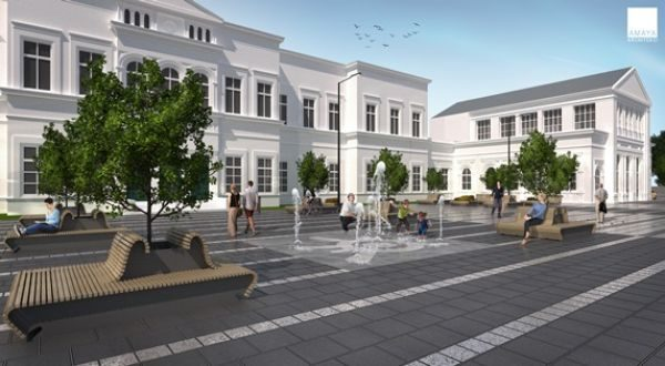 Projekt zmian na placu przed dworcem gotowy