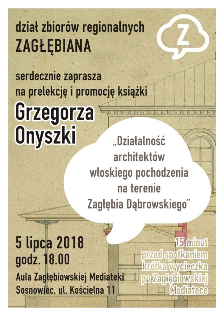 Prelekcja Grzegorza Onyszki