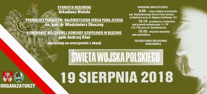 Uroczystości Święta Wojska Polskiego w Będzinie