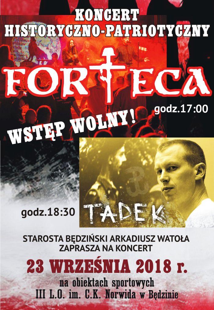 Koncert patriotyczny w Będzinie