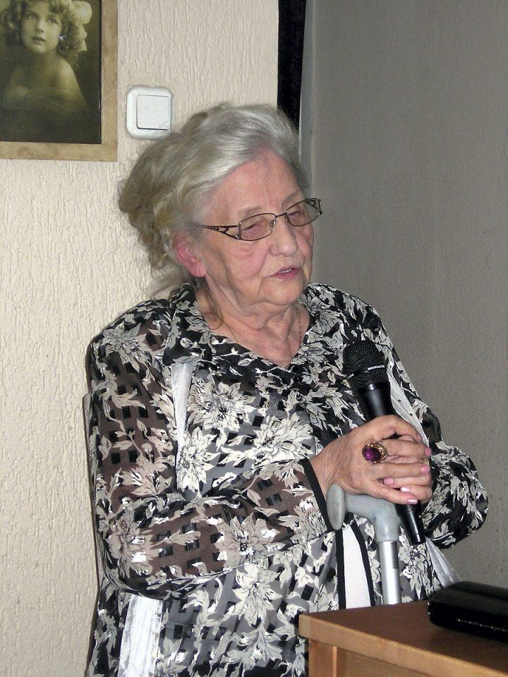 Janina (Nina) Kapuścik – Witek (Hamerlik) w Stacji Sosnowiec