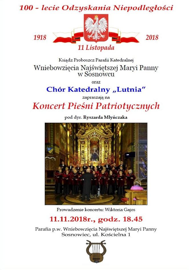 """Chór Katedralny """"Lutnia"""" zaprasza"""