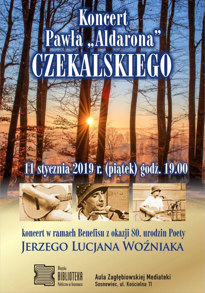 """Koncert Pawła """"Aldarona"""" Czekalskiego"""