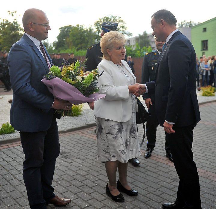Prezydent Andrzej Duda w Sosnowcu