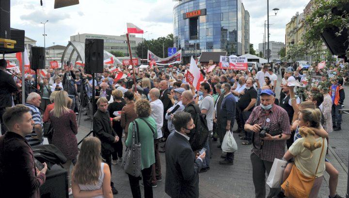 Wiec poparcia dla Andrzeja Dudy