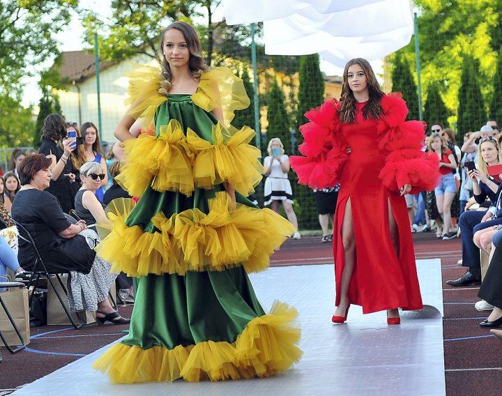 Pokaz mody w Sosnowcu